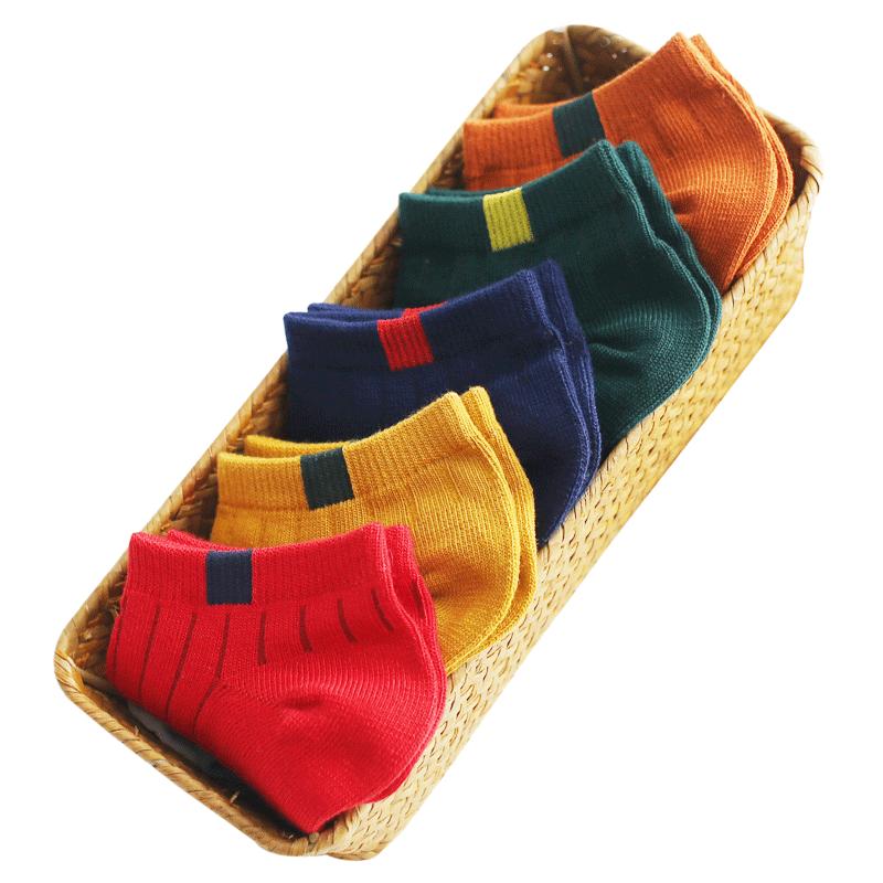 袜子女短袜浅口船袜女纯棉隐形可爱硅胶防滑春秋夏季薄款ins潮袜