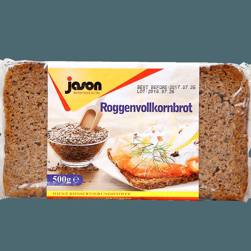 【特别难吃】进口捷森全麦面包低脂粗粮代餐
