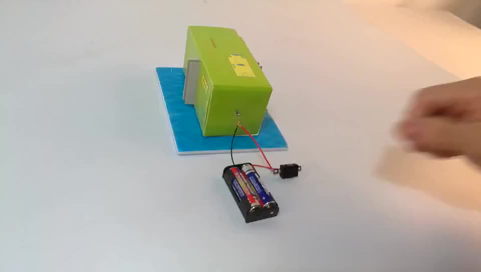DIY Paper Slide Projector For Educational Toy Science Kit