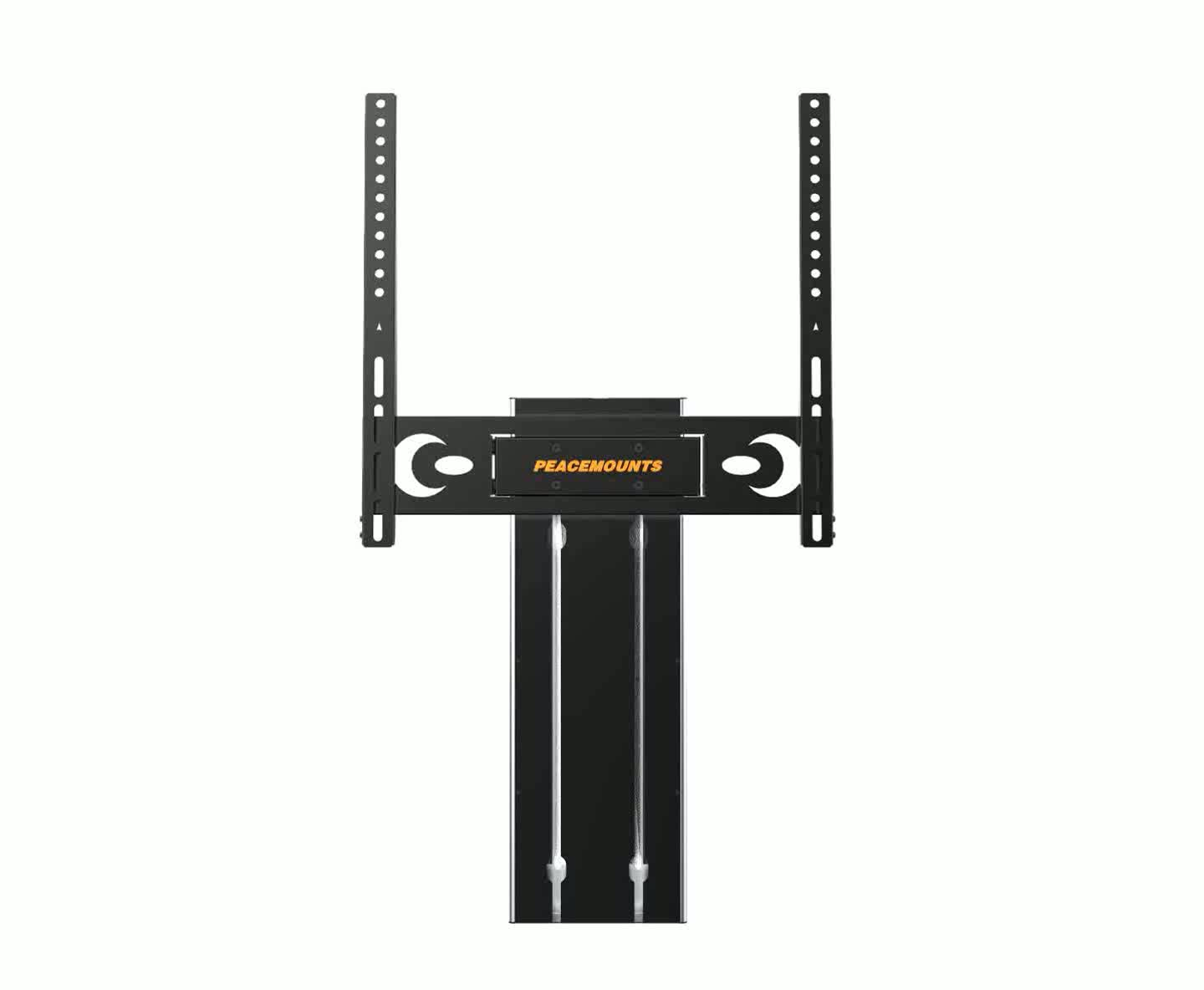 Low Profile Height Adjustable Tilting Lift Tv Wall Mount For  Inch Tv