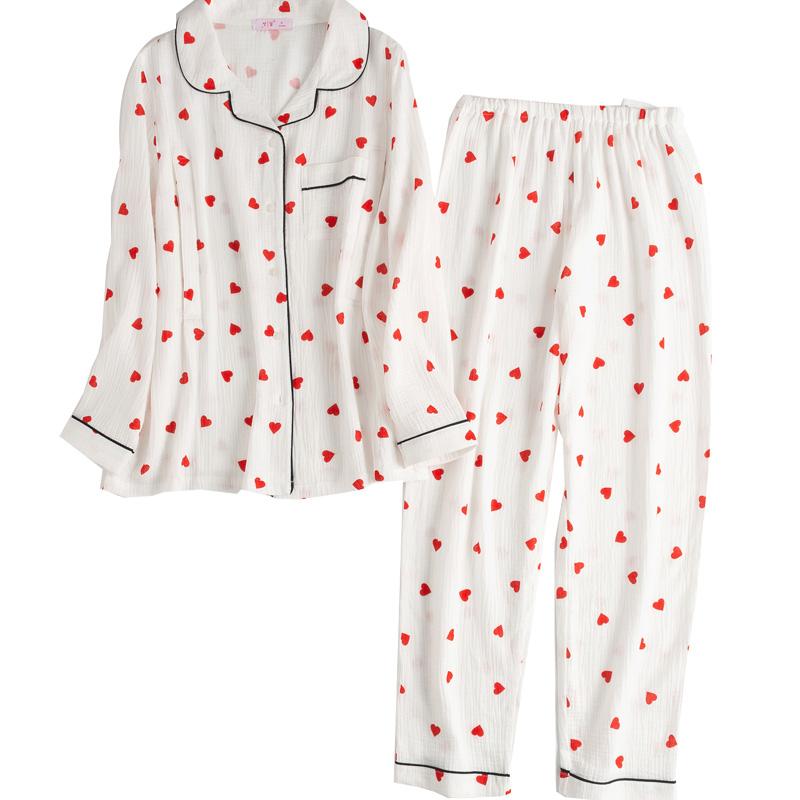 梦蜜夏季纯棉纱布月子服孕妇睡衣性价比高吗