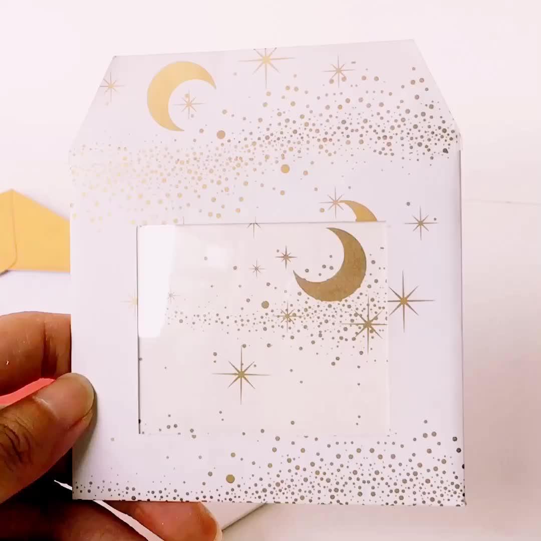 Benutzerdefinierte braun stirnband hängen schmuck karten für paket karton papier