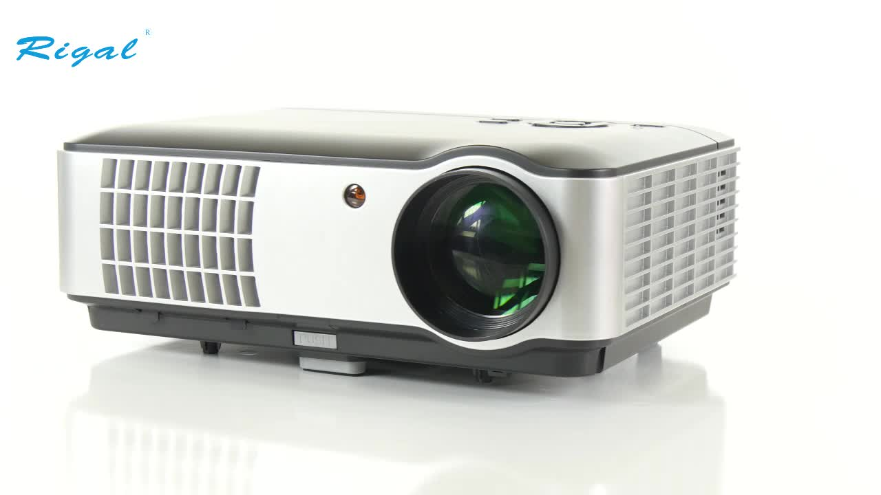 High lumens home theater music system led lcd projector for Highest lumen pocket projector