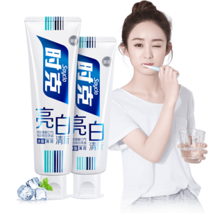 [SHK] bright white, fresh and toothpaste 1.
