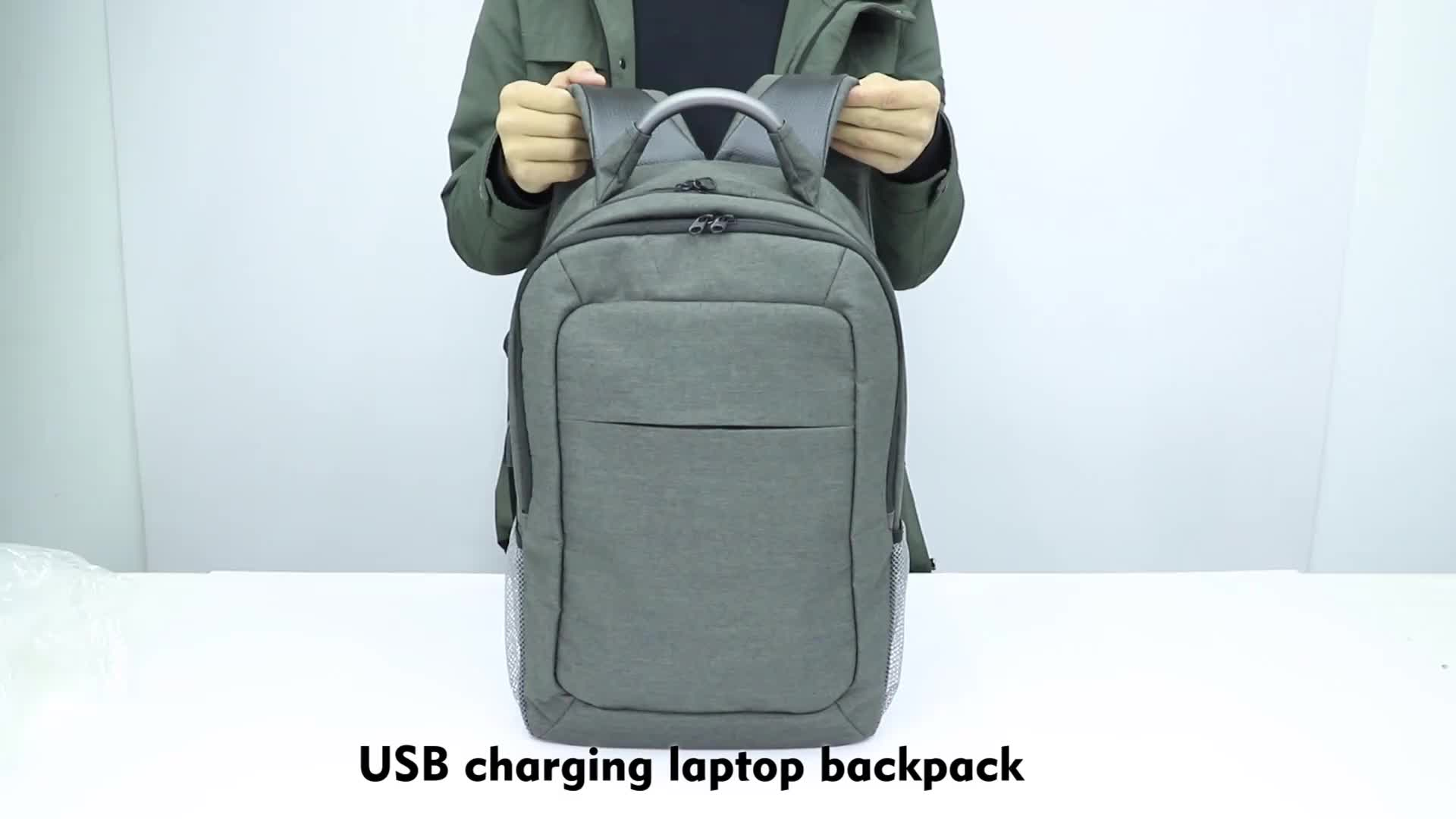 OEM high quality laptop backpack factory custom backpack bags for men with large capacity