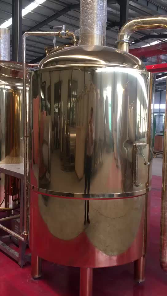 Zhengmai Mirror Polished Stainless Steel 50l Micro Homebrew