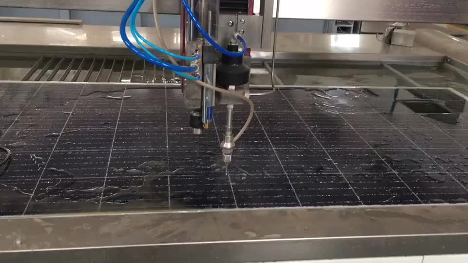 Fly arm or cantilever type waterjet table water jet cutting machine price