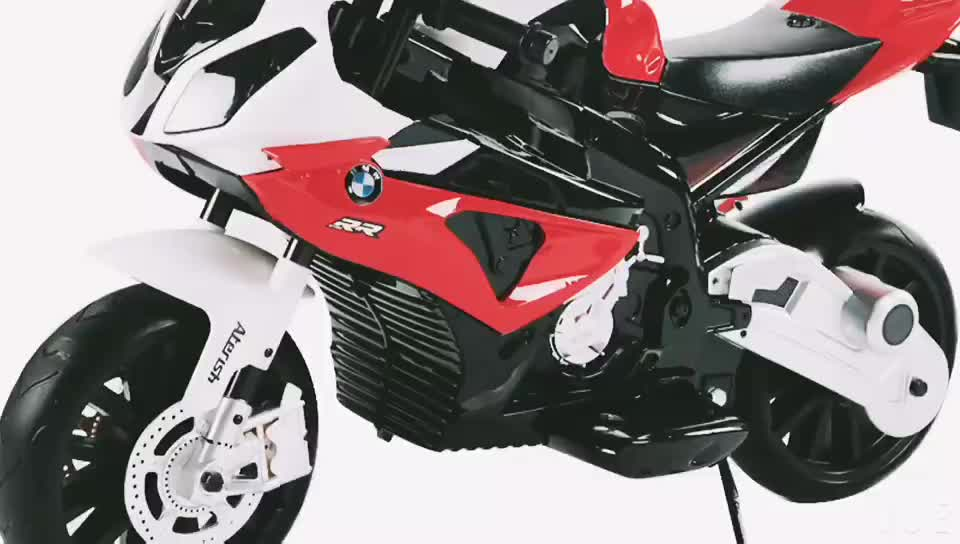 WDJT528 Hot Model Licensed BMW S1000RR CE Wholesale Ride On Battery Operated Kids Baby Car With Music And Led Lights
