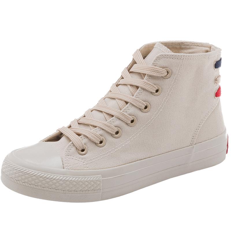 2021春季新款百搭ins风港味帆布鞋质量如何?
