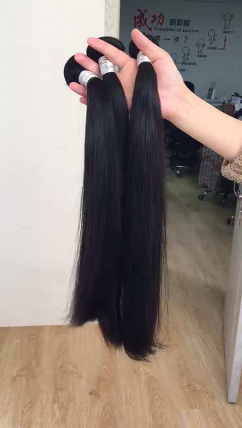 wholesale straight remy human weave hair for black women