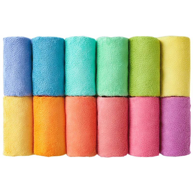 大朴毛巾纯棉12色新疆阿瓦提长绒棉洗脸家用成人柔软吸水加厚面巾