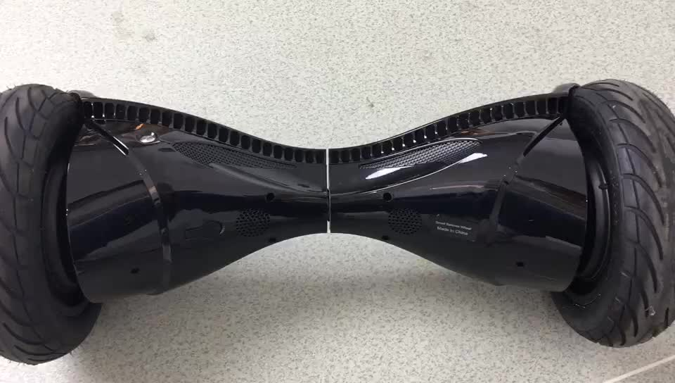 Top quality self balancing scooter with Stereo Bluetooth 10.5inch UL two wheel wholesale hoverboard