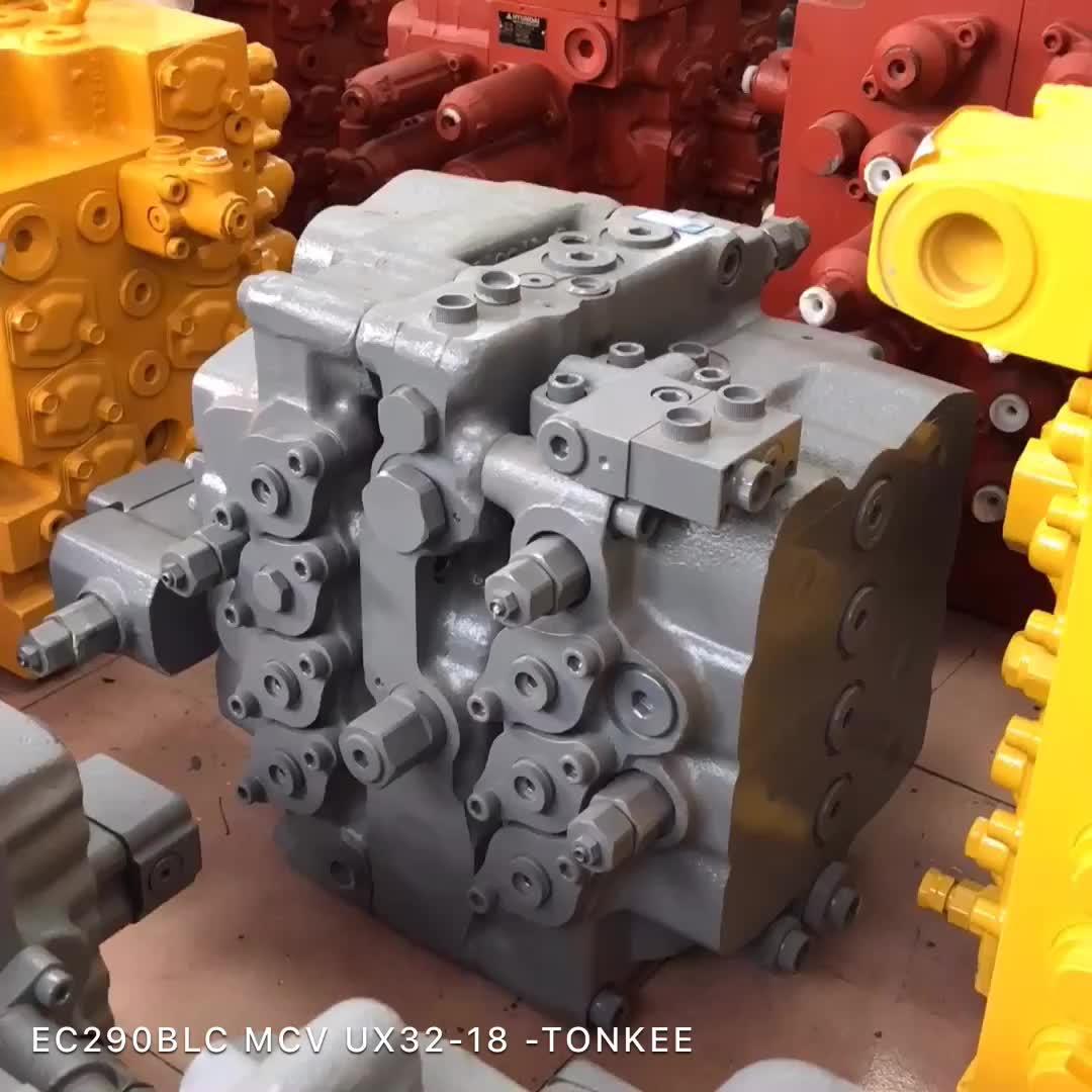 KMX15RA Control valve KPM KMX15RA Main control valve for 20 ton excavator