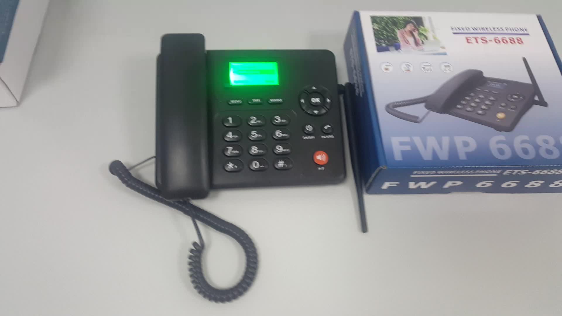 6188 6688 FWT ETS PHONES Sim Card Wireless Desk Phone