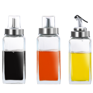 玻璃家用防漏装厨房小油罐调料瓶