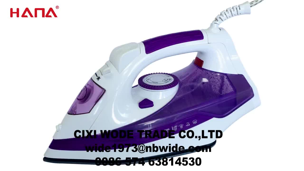 HANA multifunctional pressing machine cheapest  temperature  adjustable electric steam press iron