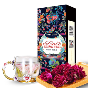 [Wei Ya recommendation] Super Large Rose Crown tea gift box