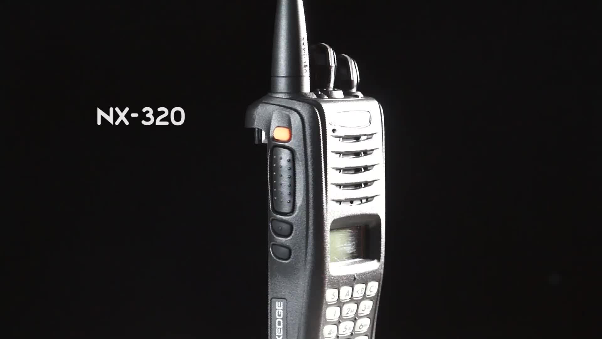 Kenwood digital wireless walkie talkie NX-220/NX-320 with full keypad