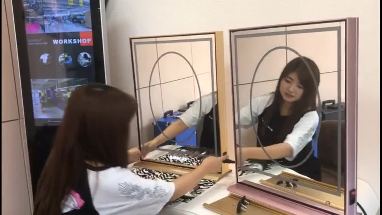Innovative Style Led Vanity Mirror Light Built-in Led Make Up Mirror