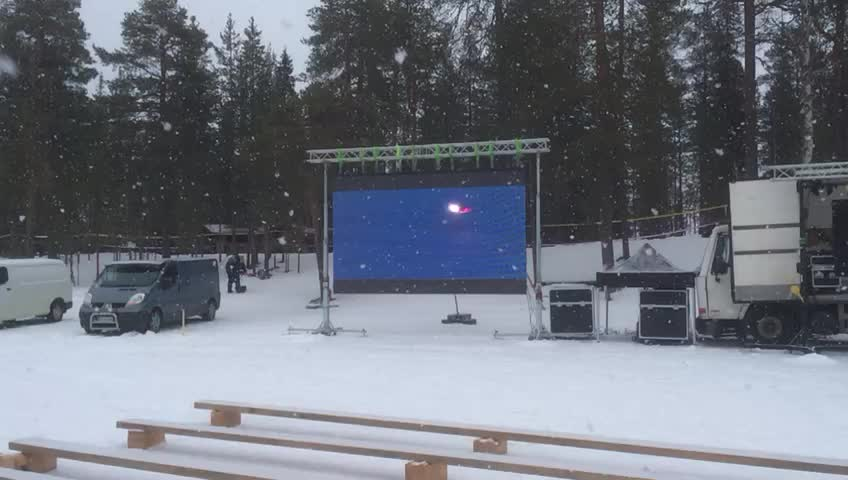 full color SMD outdoor advertising waterproof p10 led screen led display