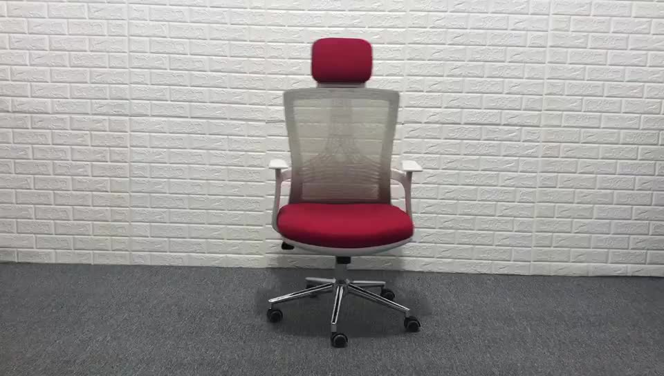 D35A# Hot best high quality ergonomic rotatable mesh office chair with soft cushion