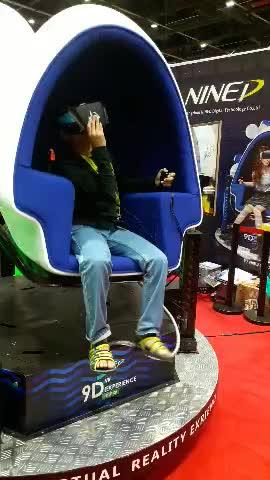 Nined Hoge Kwaliteit Nieuwste Real Gevoel 9d Virtual Reality 360 Graden Kijkhoek 9d Cinema Simulator Voor Verkoop
