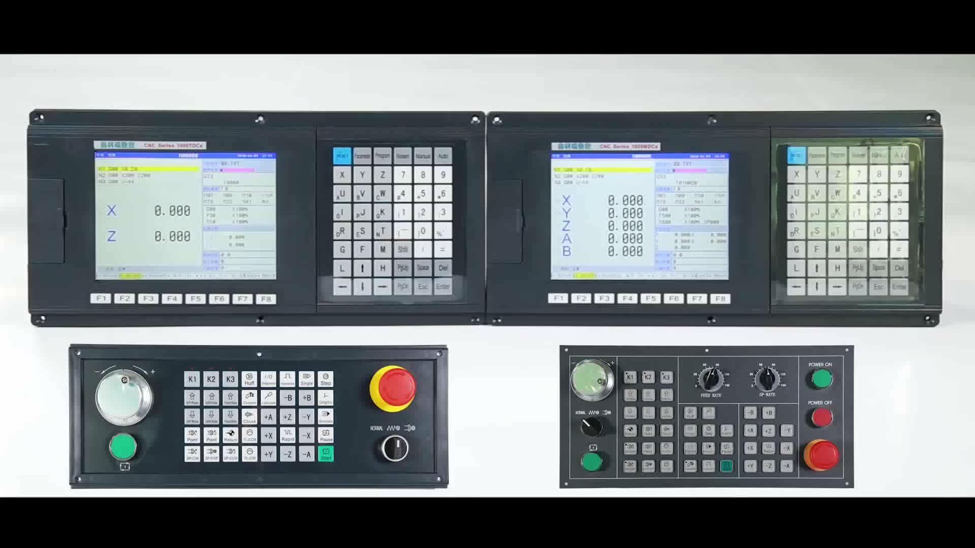 เดลต้าcncควบคุมNEW1000MDCa 4แกนมิลลิ่งcncระบบ/ควบคุม