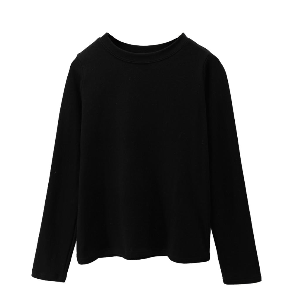 2021春季宽松黑色t恤简约打底衫好用吗