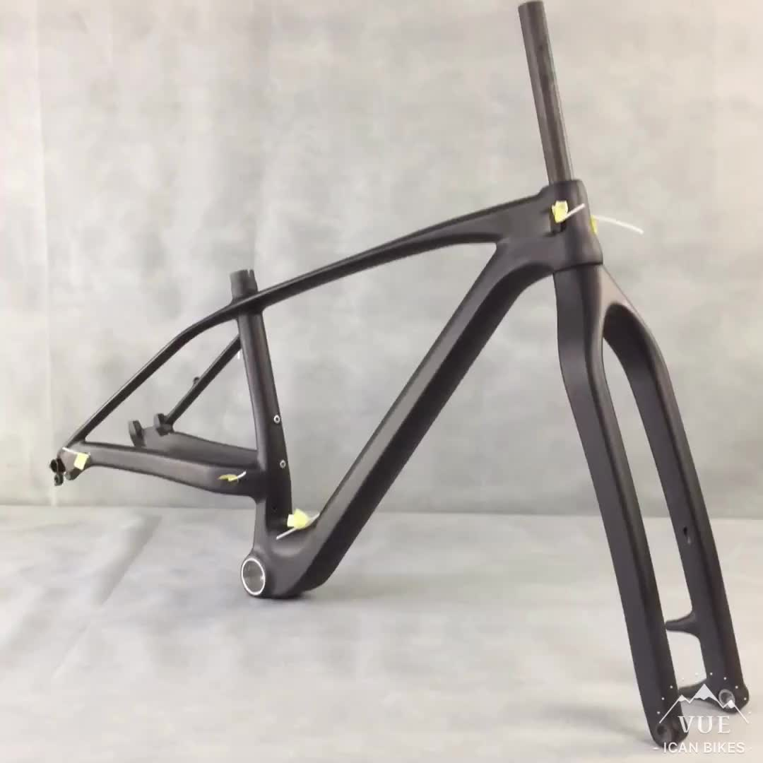 29er plus mtb frame 17 inch mountain bicycle with 3.0 max tire