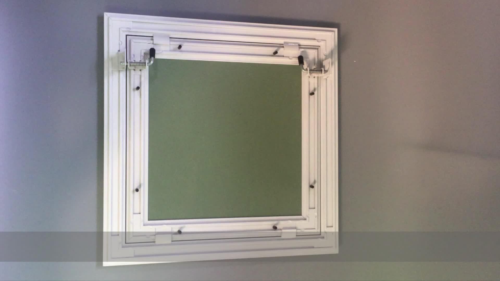 Aluminum Access Doors : Gypsum board plaster aluminum access door panel for