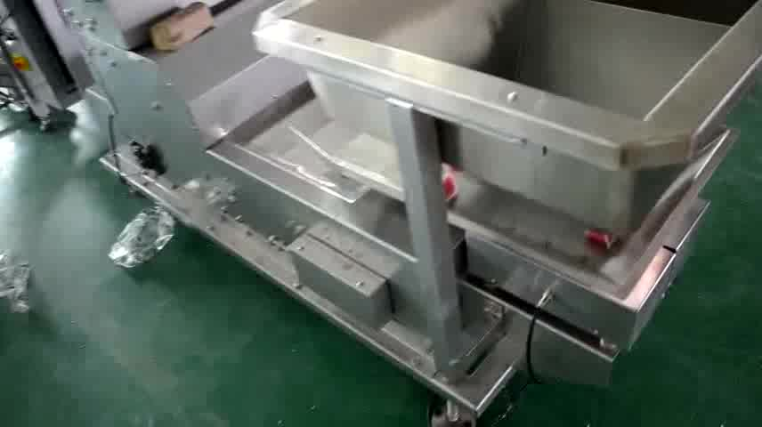 High Capacity Automatic Weighing Snack Fruit / Potato Chips Packaging Machine