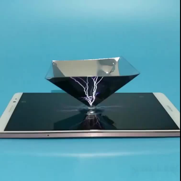 Holographic Display 3d Pyramid Display Phone Hologram 3d