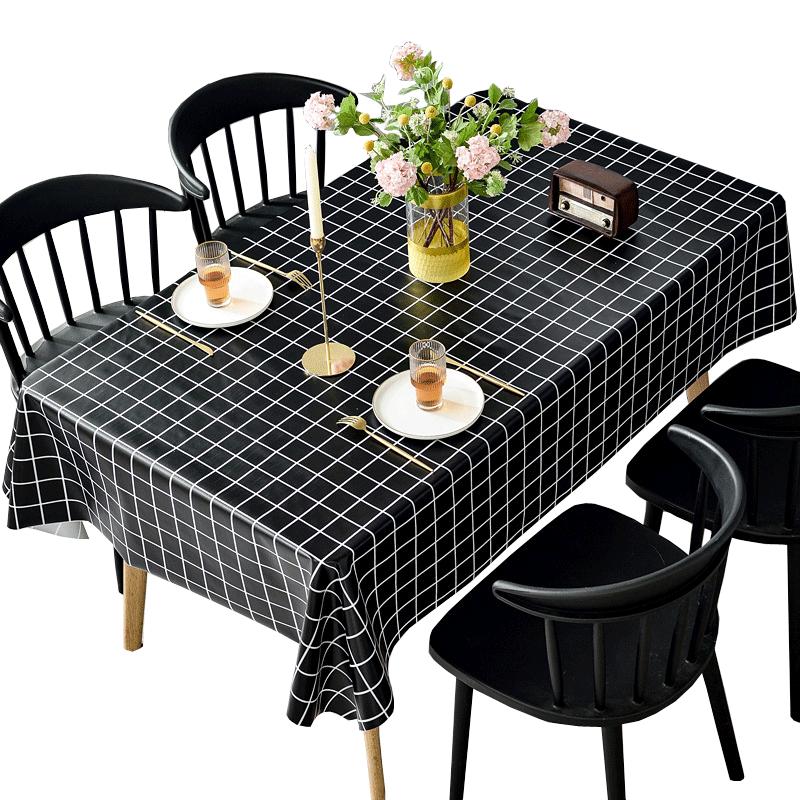 防水防烫防油免洗pvc书桌餐桌布