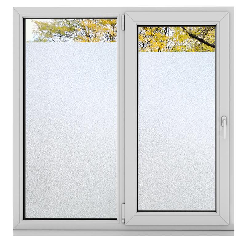 磨砂不透明卫生间防晒遮光玻璃贴纸质量如何