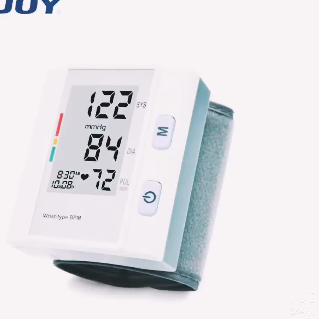 Aparatos para el hogar reloj de pulsera eléctrico Sejoy Monitor de presión arterial