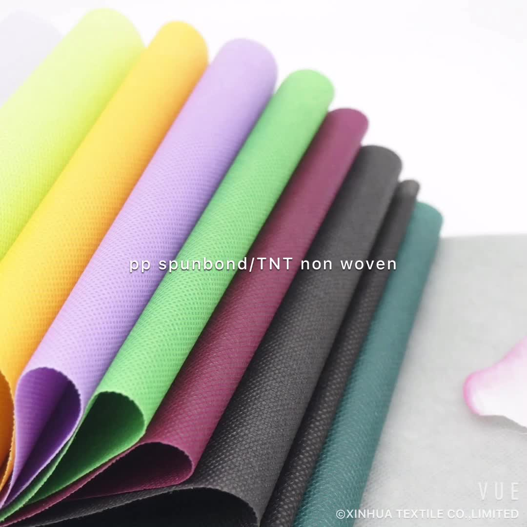 Multi-Purpose Customized Made 100% Polypropylene PP Spunbond Nonwoven Non woven Non-woven Fabric