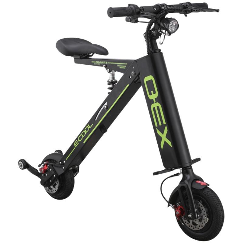 折叠成人锂电池代步车电动自行车
