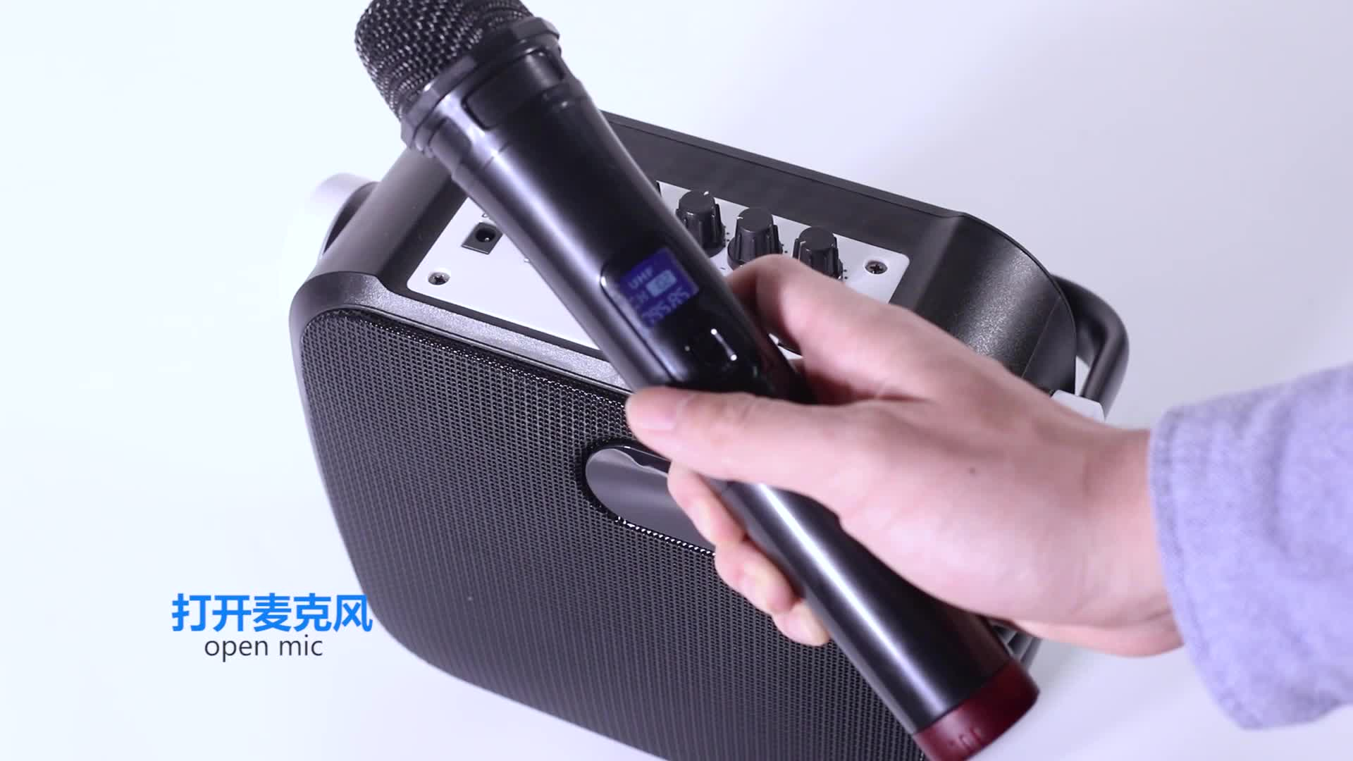 Musicity en China, sistema de sonido de voz amplificador Karaoke Altavoz Bluetooth