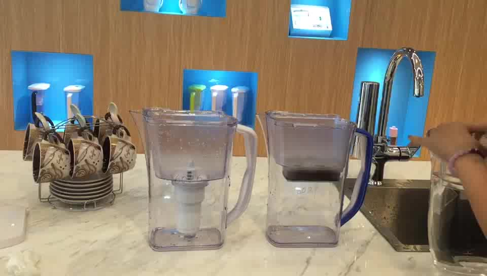 2019 New Home Ultrafiltration Wholesale Hydrogen Replaceable Water Pitcher With Filter