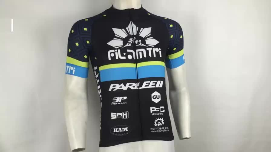 High Performance Race Cut Italy MITI Fabric Bike Apparel Custom Moisture Wicking Sublimated Cycling Bicycle Jersey