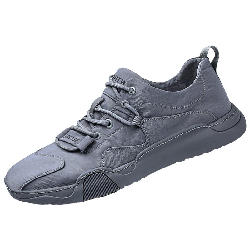 春季帆布潮流百搭解放平底板鞋男鞋质量怎么样