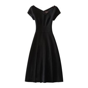 2021夏装新款短袖修身显瘦小连衣裙