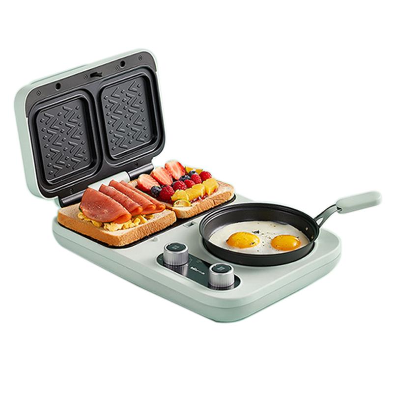 小熊家用小型三明治机土吐司早餐机质量如何