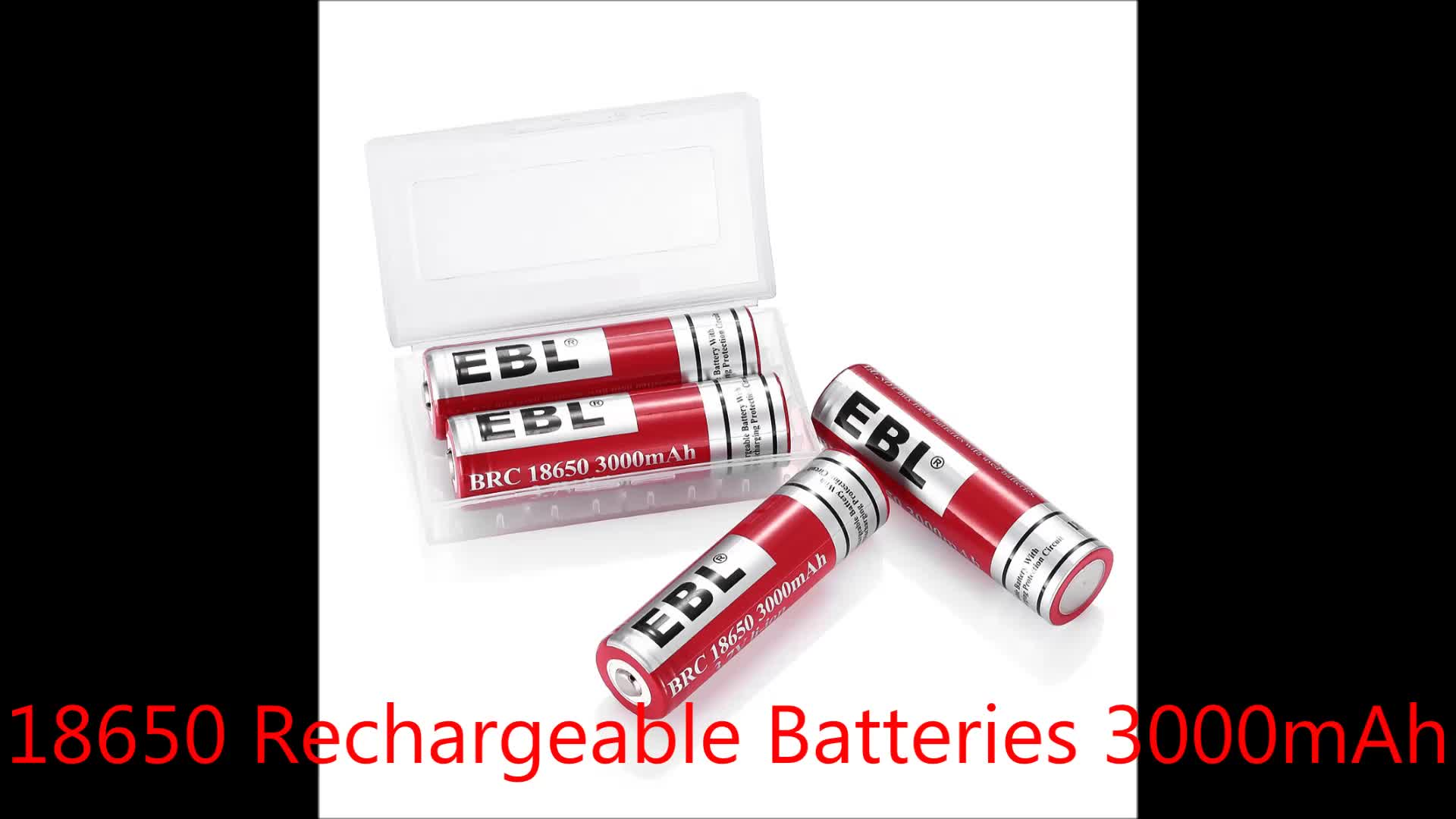 Wholesale Alibaba EBL 26650 Lithium Rechargeable Batteries 5000mAh Battery for Electronics