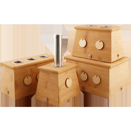 艾灸盒子木制腹部宫寒熏蒸全身罐