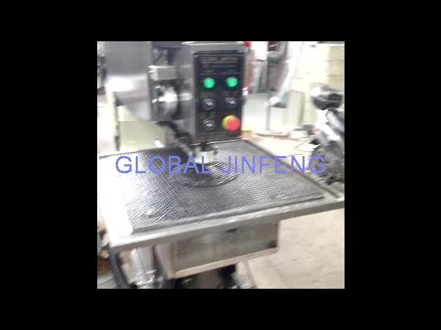 JFO-2 Global Jinfeng Semi-automatic horizontal glass drilling machinery with Laser