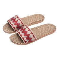 亚麻女夏家居室内厚底四季情侣拖鞋质量如何?