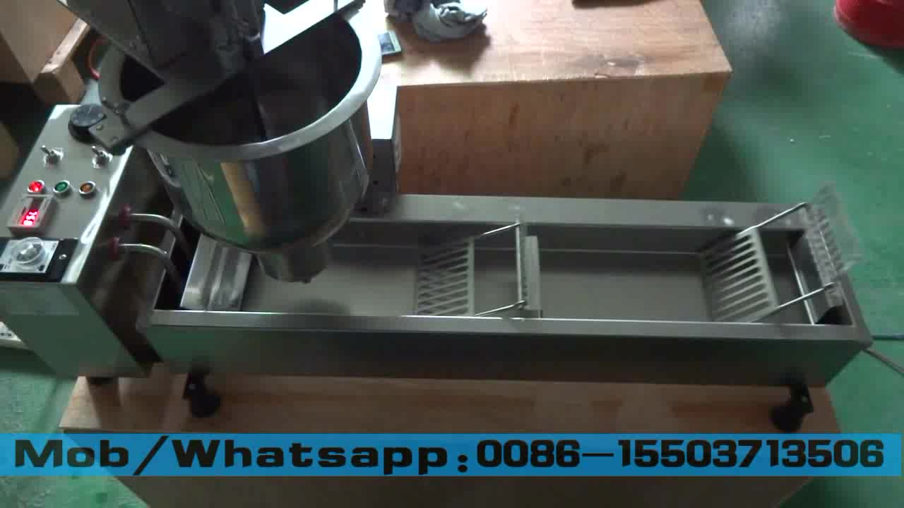 Manufacturer high output automatic small donut making machine