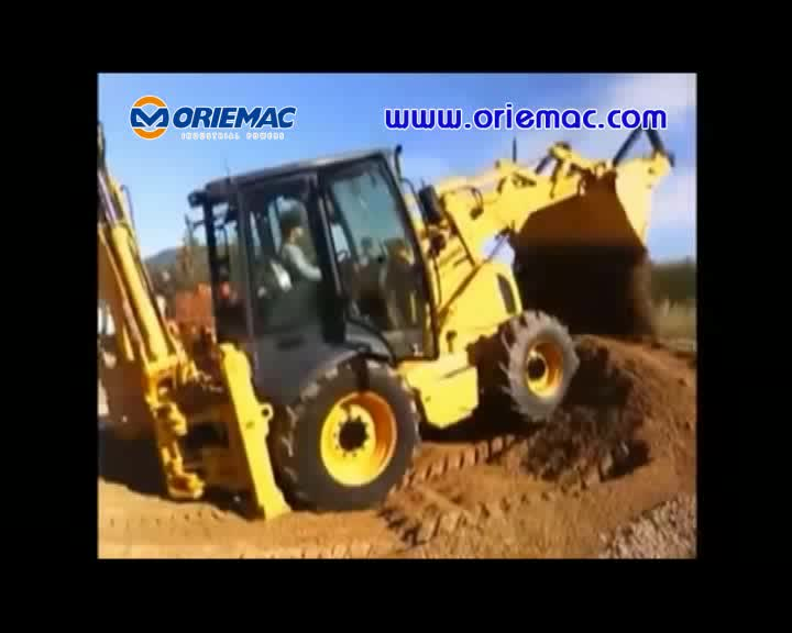 Liugong Brand New Small Backhoe Loader CLG777A for Sale