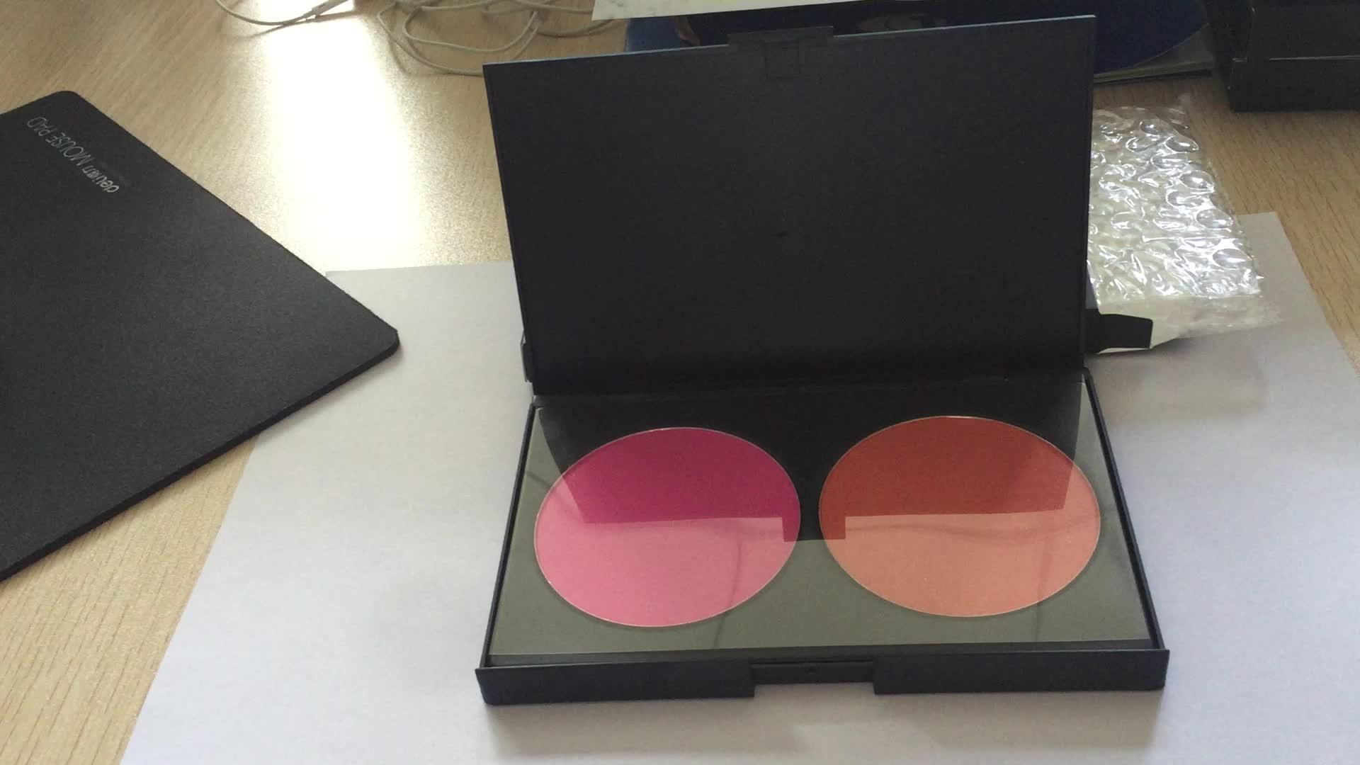 New 2 Colors Professional Blusher Blush Palette Contour Palette